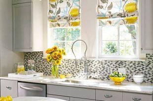 Kitchen Window Treatments   Better Homes & Garde