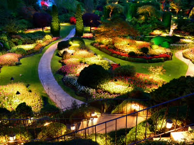 Indianapolis Landscape Lighting: Outdoor Lighting: B&B Gro