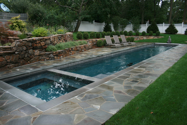 Lap Pool - Traditional - Pool - New York - by Lang Pools In