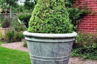 Extra Large Stone Garden Pot / Planter   Large garden planters .