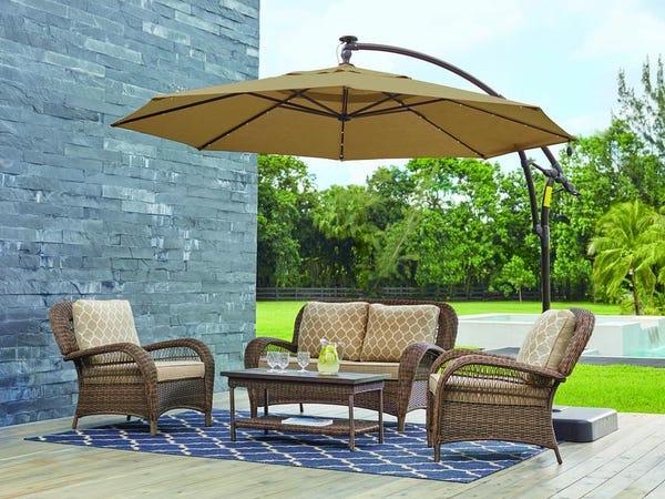 The best patio umbrellas in 2020: Fiberbuilt, Hampton Bay, and .