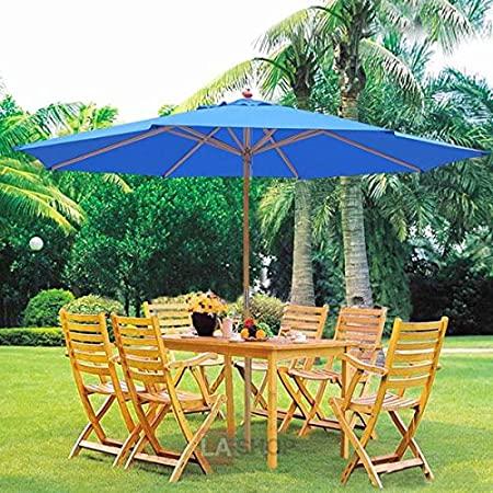 Amazon.com : Oversized 13 Feet Market Patio Umbrella Outdoor .