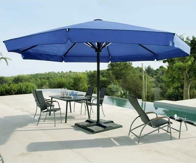 Large Patio Umbrellas for Comfort Outdoor Patio - AyanaHou