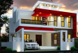 Duplex House Designed By S.I. Consultants | Duplex house design, 2 .