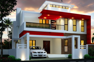 Duplex House Designed By S.I. Consultants | Duplex house design, 2 .
