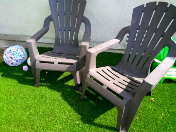 Sold 2 Big patio or lawn chairs in Mission Viejo - let