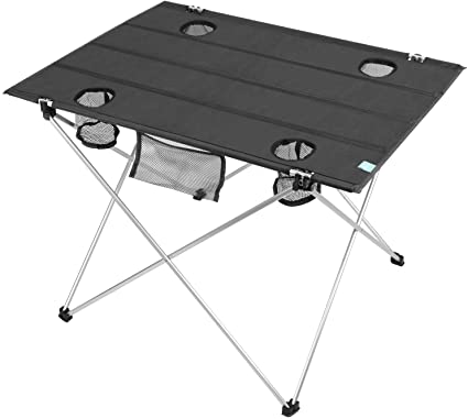 Amazon.com : Lightweight 2.2lbs Folding Camping Table, Portable .