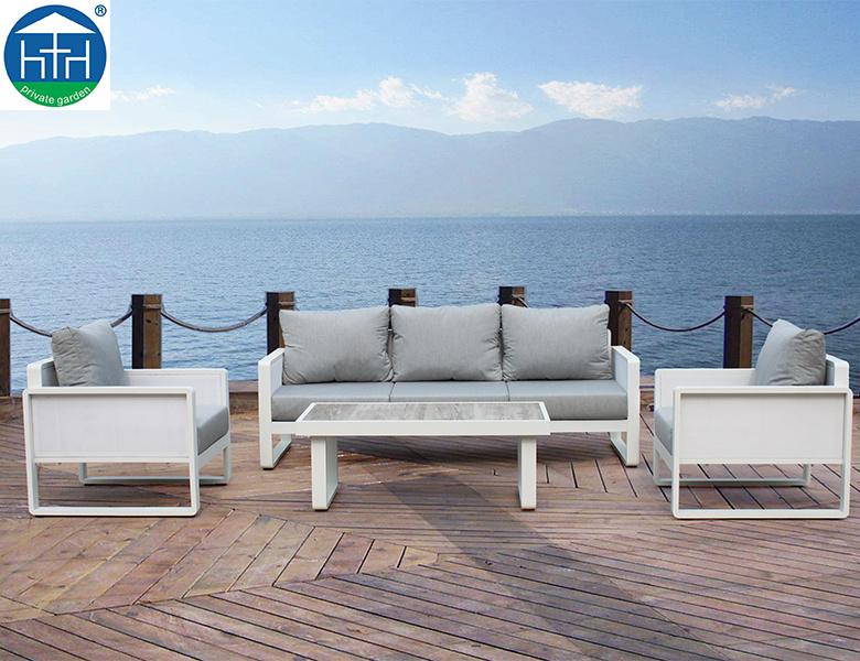 China Luxury Garden Furniture Aluminum Outdoor Furniture Terrace .