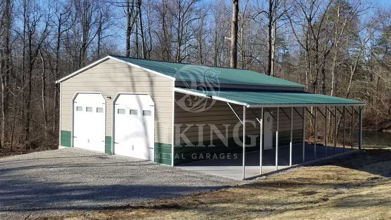 Metal Garage Buildings Texas | Steel Garages Texas