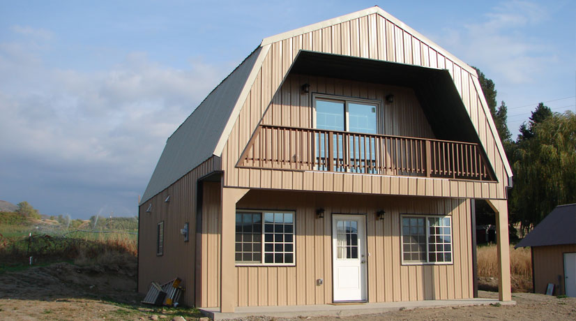 Metal Building Homes - Steel Building Homes for Sale - AmeriBuilt .
