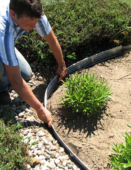 Metal Garden Edging - EasyFlex™ Aluminum Edging, 2