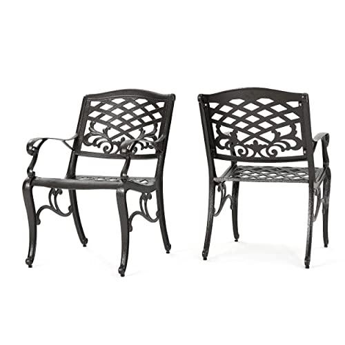Antique Metal Patio Chairs: Amazon.c