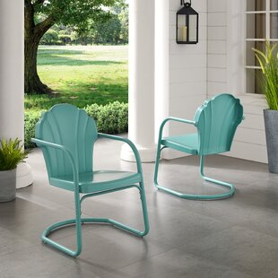 Retro Metal Patio Chairs | Wayfa