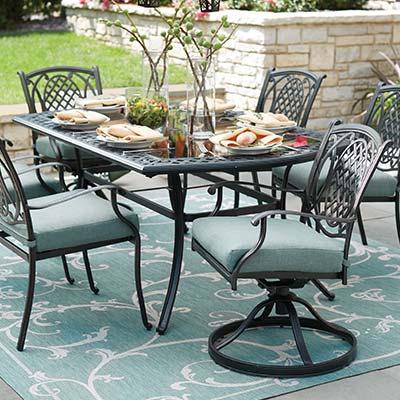 Elegant Iron Patio Furniture - Modern Innovation Desi