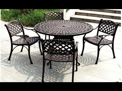 Metal Patio Furniture~Metal Patio Furniture At Lowes - YouTu