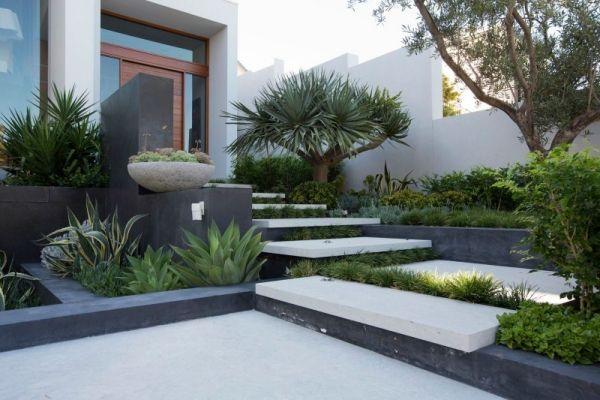 Elegant landscape design - Branksome by Tim Davies Landscaping .