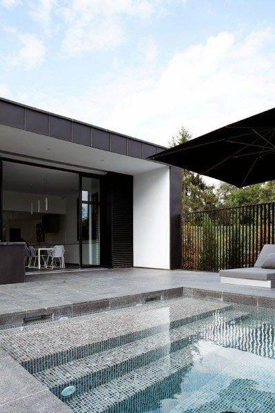 Top 60 Best Home Swimming Pool Tile Ideas - Backyard Oasis Designs .