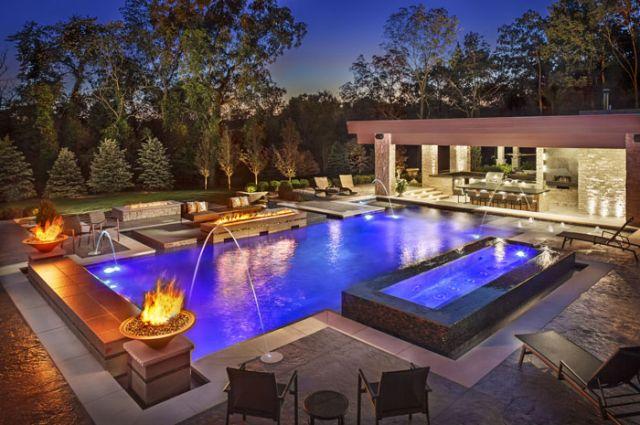 1. Modern Pool Designs - Barrington Poo