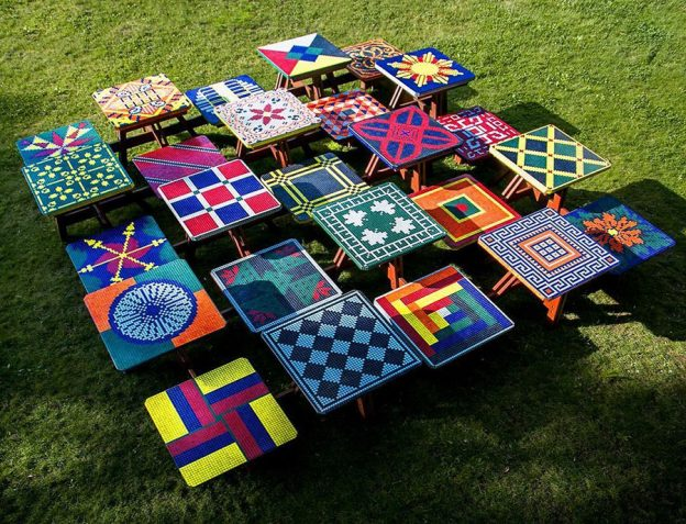 Materials and Methods Outdoor Mosaic Tables | How To Mosa