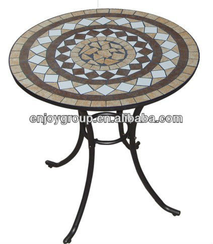 Mosaic Garden Table Patterns Prevailed In Uk Mosaic Round Garden .