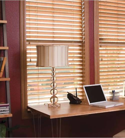 Using Wood Blinds to Create an Elegant Room or Office – pro direct