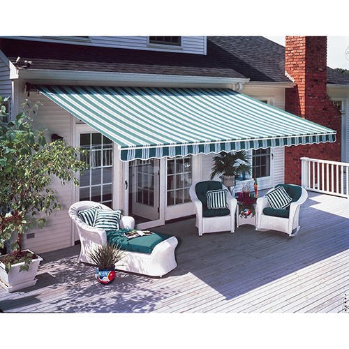 Green, White Outdoor Awnings, Rs 120 /square feet, Standard .