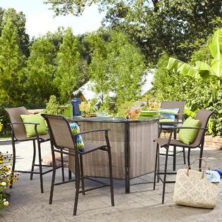 Garden Oasis Harrison 5 pc. Outdoor Bar S