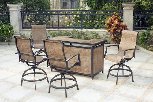 Backyard Creations® Sheridan Collection 5-Piece Bar Set at Menards