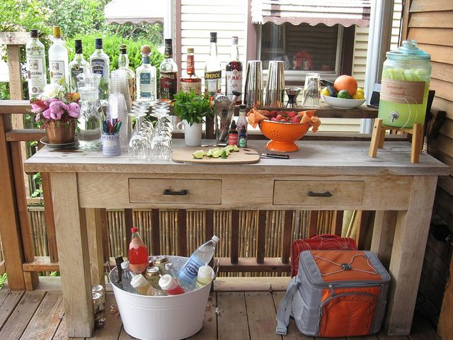 bbq bar in 2020 | Bbq bar, Bar set up, Outdoor bar se