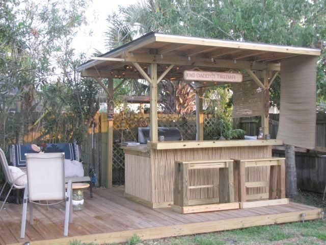 Charming Outdoor Tiki Bar Ideas Best 25+ Outdoor Tiki Bar Ideas On .