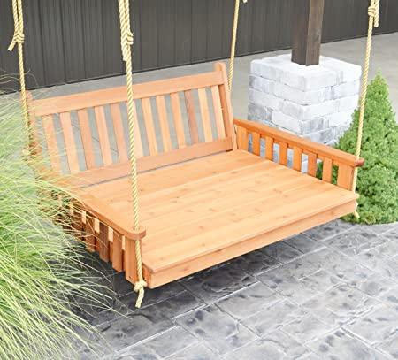 Amazon.com : Aspen Tree Interiors Best Porch Swing Bed, Outdoor .