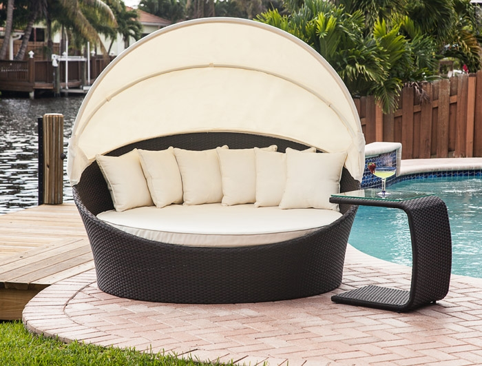 Mh2g - Outdoor Furniture - Tropea Outdoor Bed Loung