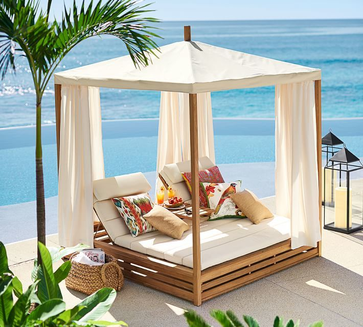 Stunning Outdoor Bed Ide