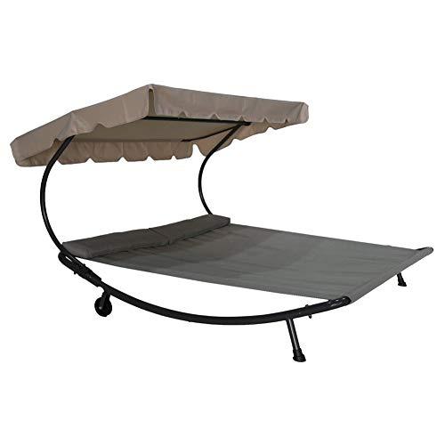 Amazon.com: Abba Patio Outdoor Portable Double Chaise Lounge .