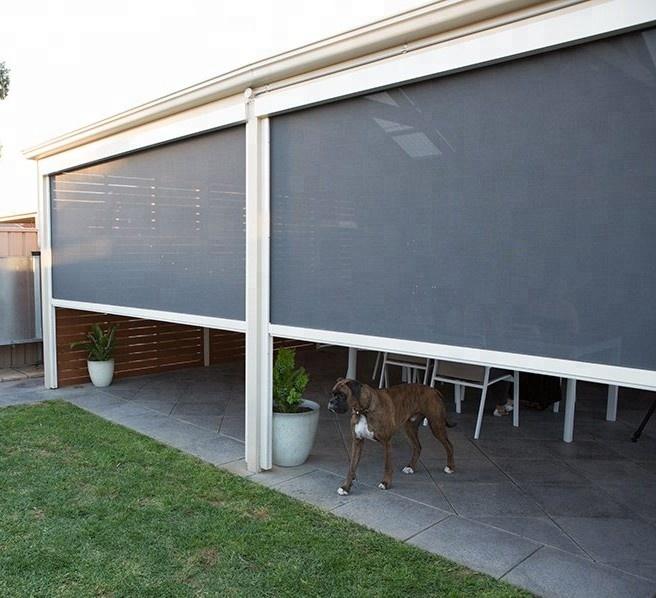 Cafe Blinds Outdoor Pvc Waterproof Windproof Ziptrack 100 .