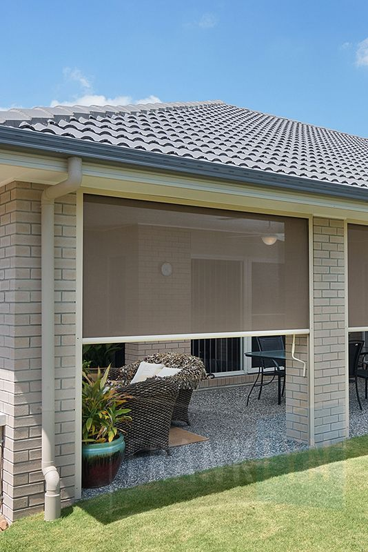 Heavy Duty Outdoor Blinds by Franklyn | Outdoor blinds, Patio .