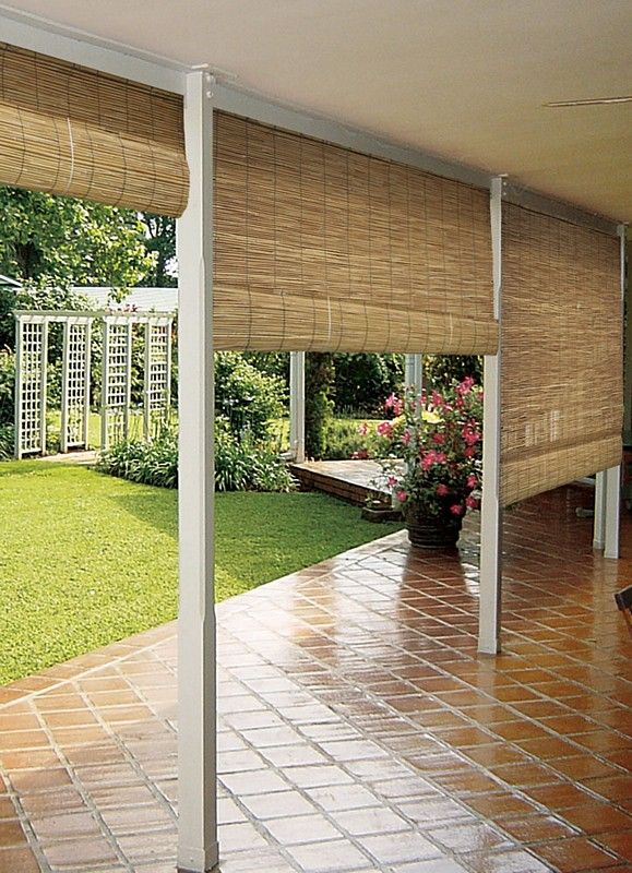 This is a cool idea for an outdoor patio, porch, or deck. You can .
