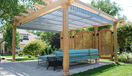 Retractable Canopy or Awning: What's the Difference? (With images .