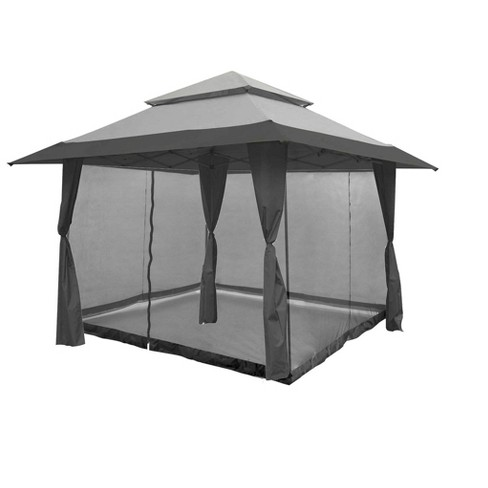 Z-Shade 13 X 13 Foot Instant Gazebo Canopy Outdoor Shelter With .