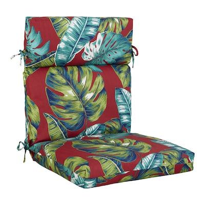Style Selections Laguna Palm High Back Patio Chair Cushion at .