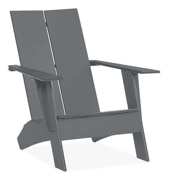 Emmet Outdoor Lounge Chair & Ottoman - Modern Outdoor Chairs .