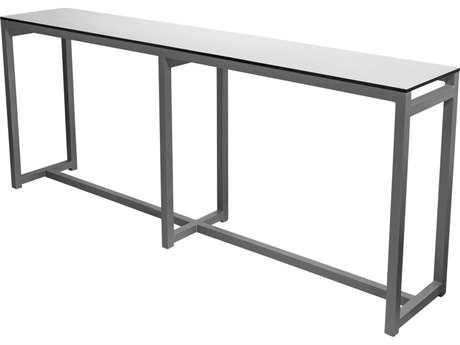 Source Outdoor Furniture Modera Aluminum 89 x 16 Rectangular .
