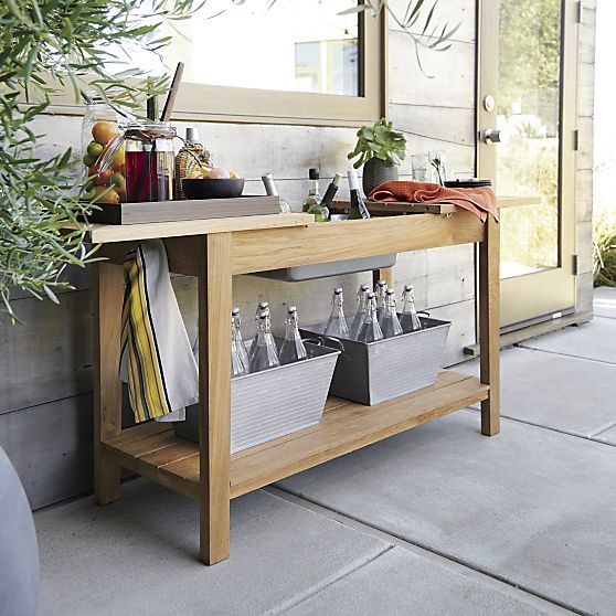 Regatta Natural Console-Bar-Work Station + Reviews | Crate and .