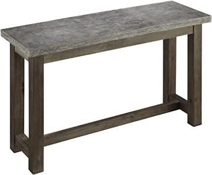Amazon.com: Home Styles Concrete Chic Brown/Gray Console Table .