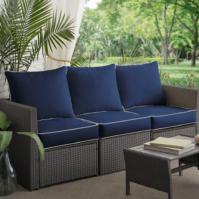 Buy Blue, Sunbrella Outdoor Cushions & Pillows Online at Overstock .
