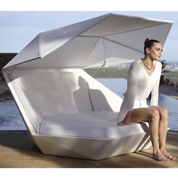 Vondom Modern Outdoor Daybed, day bed - HomeInfatuation.co