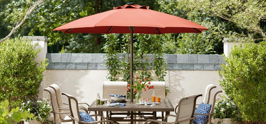 Patio Umbrellas - Patio Furniture - The Home Dep