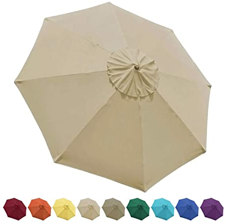 Amazon.com : EliteShade 9ft Patio Umbrella Market Table Outdoor .