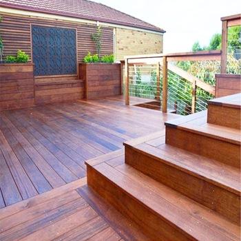 Cheap Eco Natural Hardwood Solid Timber Outdoor Merbau Wood .