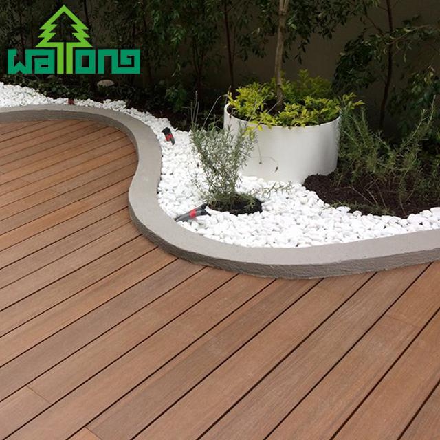 Composite Outdoor Decking Tiles Gray Wood Tiles Waterproof Balcony .